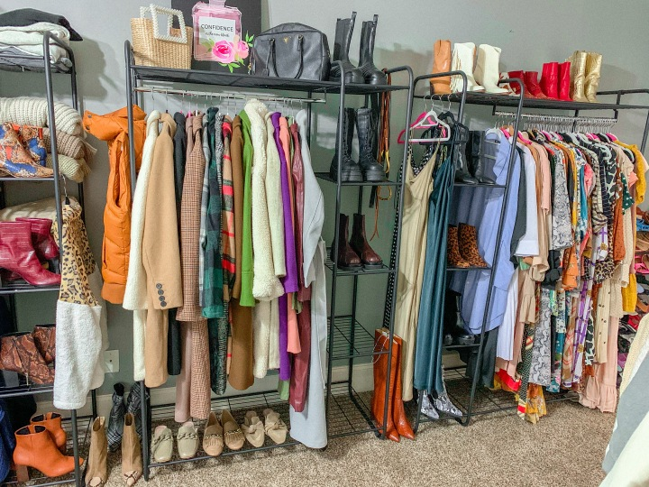 My Boutique Style Closet Update: Chic Closet Ideas